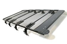 Troop4 Universal Expedition Heavy Duty Roof Rack Brackets Black Powder Steel