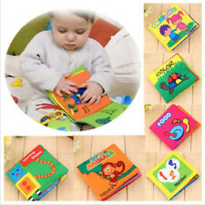 Intelligence development Cloth Bed Cognize Book Educational Toy for Kids Baby
