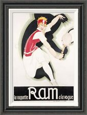 Global Gallery 'Ram' by Rene Vincent Framed Painting Print