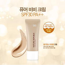 NATURE REPUBLIC Pure Natural Cover BB Cream SPF30 PA++ 15ml  Korea Cosmetic