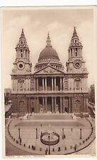 OLD POSTCARD St PAUL,S CATHEDRAL LONDON