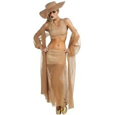 LADY GAGA GOLD MUSIC AWARDS SHOW DRESS UP HALLOWEEN COSPLAY COSTUME ADULT SIZE