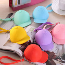 Women Cute Purse Hat Silicone Waterproof Wallet Pouch Coin Bag lovely gift TBUS
