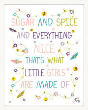 Finny and Zook Sugar and Spice and Everything Nice Paper Print