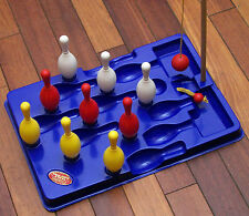 1950's / 1960's TABLE NINE PINS Skittles Game Made in England Good Working Order
