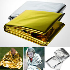 Waterproof Emergency Survival Rescue Space Foil Thermal First Aid Blanket Tent