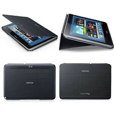 Black Cover Case BOOK Cover For Samsung Galaxy Tab 2 3 4 A S 7' 8' 10.1 Note Pro