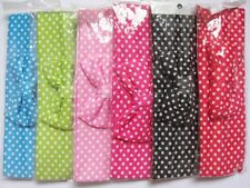 "12 soft and stretchy knit 2 3/8"" Dots headbands/Bow-U Pick H005"
