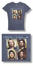 Nickelback- NEW JUNIORS/BABY DOLL Photo T Shirt (M,L) SALE FREE SHIP TO U.S.!