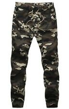 NEW Men's Camouflage Army Sweat Pants Casual Sport Jogging Trousers Dance Slacks