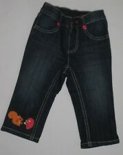 Gymboree Fall for Autumn Blue Jeans 12-18 New Hedgehog squirrel Denim Pants Girl