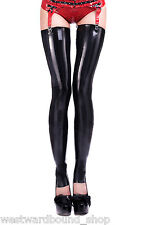 R1699 FOOTLESS Rubber Latex Unisex Fetish STOCKINGS Tailored Latex SECONDS