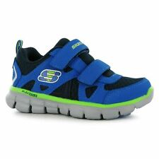 Skechers Kids Vim Strap Infants Boys Runners Shoes Velcro Sports Training