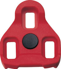 EXUSTAR E-ARC10 RED KEO CLEATS 7* FLOAT - Cycling Keo Pedal Cleats