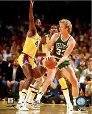 Larry Bird Boston Celtics NBA Action Photo (Select Size)