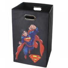 Modern Littles Superman Folding Laundry Basket