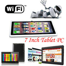 7 Inch HD Google Android 4.4 Tablet PC 8GB WIFI Quad Core Dual Camera Tablet LOT