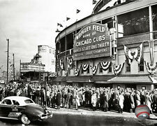Wrigley Field Chicago Cubs MLB Licensed Fine Art Prints (Select Photo & Size)