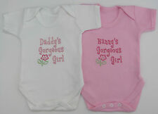 Relative Gorgeous Girl Baby Vest Grow Babies Clothes Cute Funny Gift Girl Pink