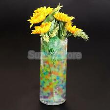 20 bags Water Beads Marbles Crystal Soil Mud Indoor Flower Planting Decoration