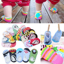 Cute Cartoon Design Baby Kids Toddler Anti-Slip Socks Shoes Slipper 6-24 Months