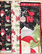 Christmas Santa & Friends Panel Fabric Collection by Debbie Mumm SOLD SEPARATELY