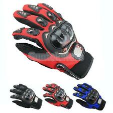 Motorbike Motorcycle Cycling Racing Full Finger Gloves Pro-Biker 3 Colors