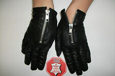 FASHION-WOMENS-BLACK-LEATHER-DRIVING-GLOVES-SIZE-7,7.5,8,8.5