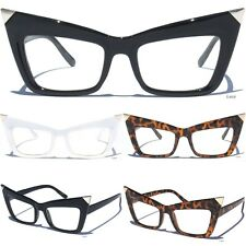 Sexy Cat Eye Retro Frame Clear Lens Glasses Women Eyeglasses Vintage Style New