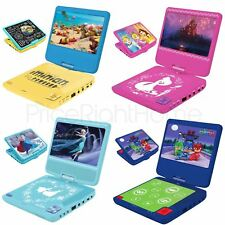 KIDS PORTABLE DVD PLAYER - FROZEN, AVENGERS, STAR WARS - NEW OFFICIAL FREE P+P