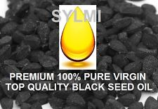 Amazing PREMIUM 100% Pure BLACK SEED OIL Organic Herbs Virgin Cold Pressed Cumin