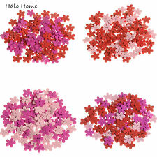Top Quality Decorative Flower Scrapbook Sewing 100 Pcs Wood Buttons Mixed 15mm