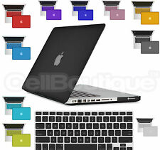 New Smart Rubber Coat Hardshell Hard Case, Cover with Keyboard Skin for MacBook