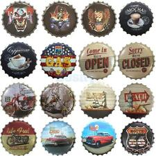 Creative Bottle Cap Retro Metal Tin Sign Plaque Vintage Picture Bar Pub Man Cave