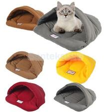 Various Pet Dog Cat Bed Nest House Sleeping Bag Mat Kennel Sack Blanket CHOOSE