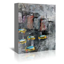 Americanflat Urbanit 3464 by Annie Rodrigue Painting Print on Wrapped Canvas