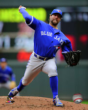 R.A. Dickey Toronto Blue Jays MLB Licensed Fine Art Prints (Select Photo & Size)