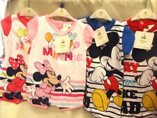 DREAM BABY DISNEY MICKY OR MINNIE SUMMER ROMPER VARIOUS COLOUR AND SIZES