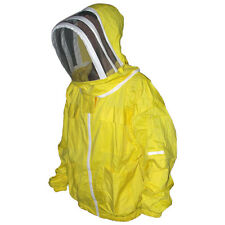 Professional Beekeeping Jacket, Beekeeper Hooded Jacket Veil Smoker Bee Yellow