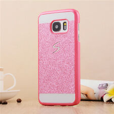 New Glitter Skin Protector Guard Hard Cover Case For Samsung Galaxy S6 S7