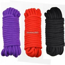 Hot Sexy GORGEOUS SOFT Japanese Silk ROPE 10 METRES LONG accessories 3Color N4U8