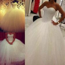 White/Ivory Bridal Gown Wedding Dress lot Stock Size 6/8/10/12/14/16/Plus Size
