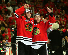 Jonathan Toews & Patrick Kane Chicago Blackhawks 2015 Stanley Cup Photo SD086