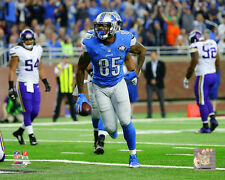 Eric Ebron Detroit Lions 2015 NFL Action Photo SL060 (Select Size)