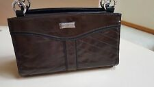 """NEW - MICHE - Classic Bag Shell - """"Christa"""" brown faux leather - retired shell"""