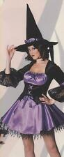 Sexy Purple Sorceress Halloween Ex Hire Sale Costume Outfit Size 18 - 20 P9531