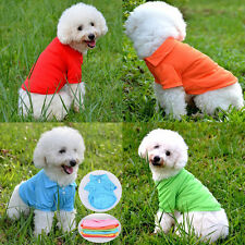 Summer Pet Puppy Small Dog Cat POLO Shirt Pet Clothes Costume Apparel T-Shirt