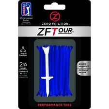"Zero Friction ZFTour 3-Prong Golf Tees 2-3/4"" 40Pack"