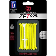 "Zero Friction ZFTour 3-Prong Golf Tees 3-1/4"" 30Pack"