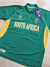 South Africa Cricket Shirt Polo Shirt 2013 ICC Champions Trophy Size Medium New